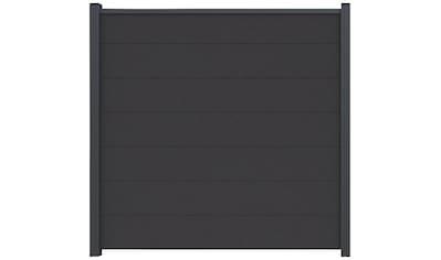 Kiehn - Holz Set: Sichtschutzelement BxH: 180x180 cm, Pfosten zum einbetonieren kaufen