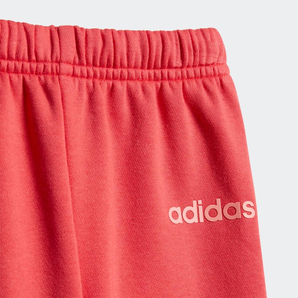 adidas Performance Jogginganzug »LINEAR JOGGER FLEECE«, (Set, 2 tlg.)