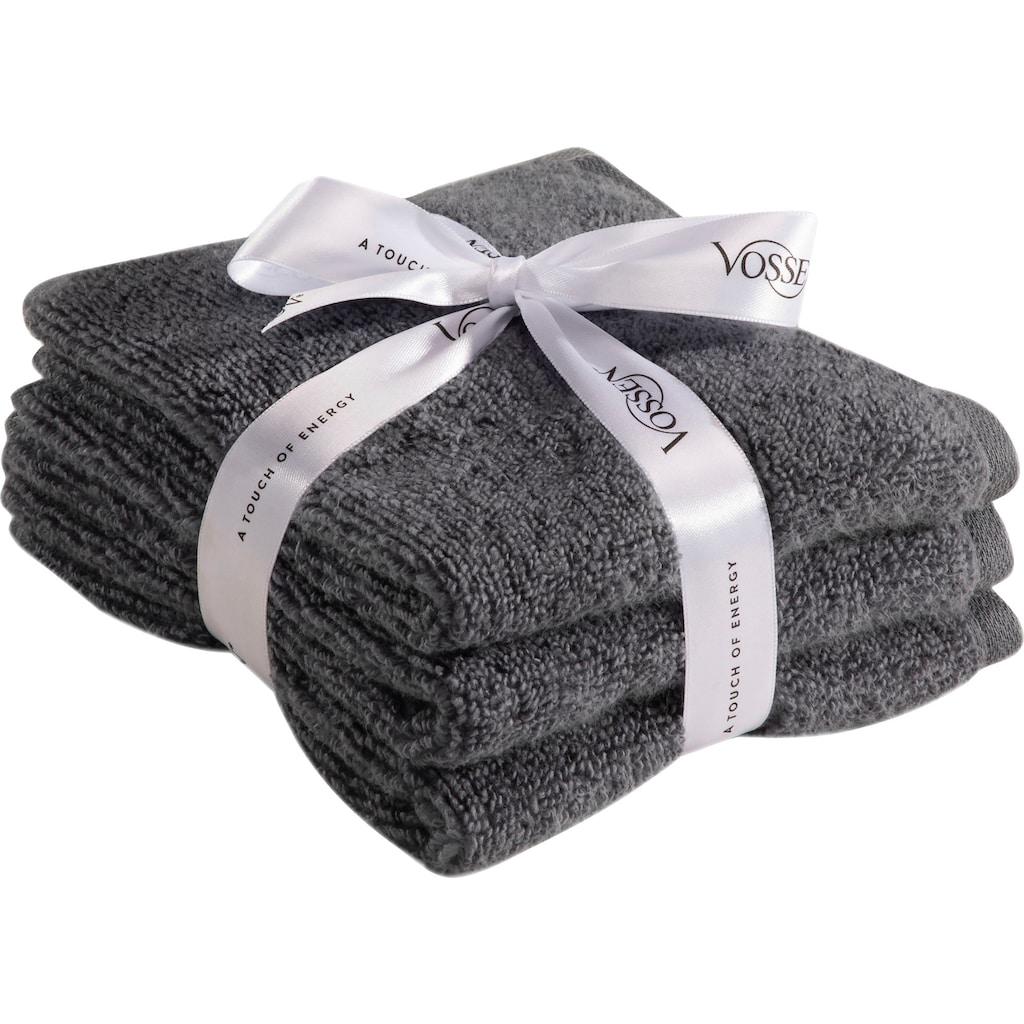 Vossen Gästehandtücher »Smart Towel«, (3 St.), antibakteriell & schnelltrocknend