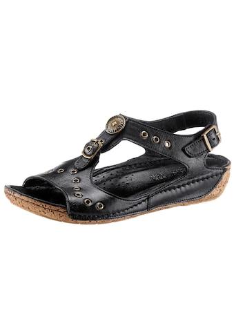 Gemini Sandalette mit Ziernieten und Zierknöpfen kaufen