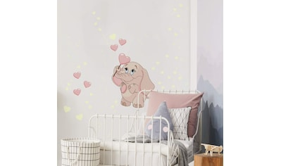 Wall-Art Wandtattoo »Elefantenbaby Leuchtsticker« kaufen