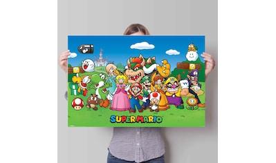 Reinders! Poster »Poster Super Mario«, Comic, (1 St.) kaufen