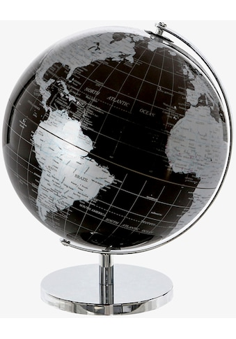Casablanca by Gilde Dekoobjekt »Globus World, schwarz/silberfarben«, in 2 Größen... kaufen