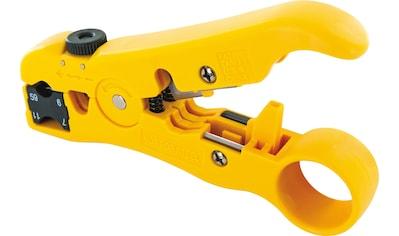 Schwaiger Abisolierzange mit integrierter Cutter-Klinge kaufen