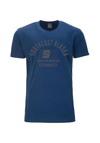 AHORN SPORTSWEAR T-Shirt mit sportlichem Frontprint kaufen