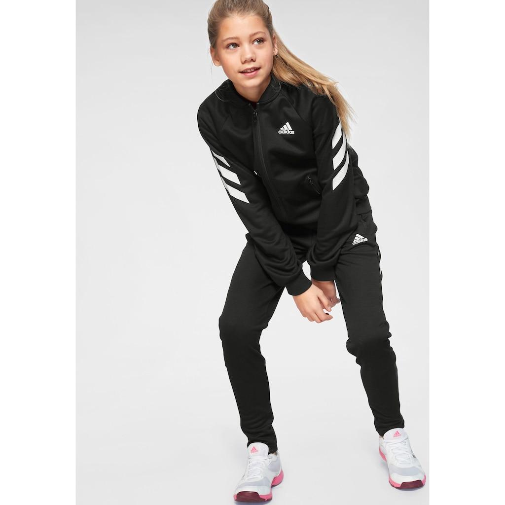 adidas Performance Trainingsanzug »YOUTH GIRLS TRACKSUIT« (Set, 2 tlg.)