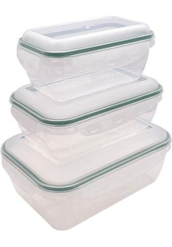 BONETTI Frischhaltedose, (6 tlg., 2 x 3er Set), rechteckig kaufen