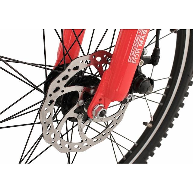KS Cycling Jugendfahrrad »4 Masters«, 21 Gang Shimano Tourney RD-TX 31 Schaltwerk, Kettenschaltung