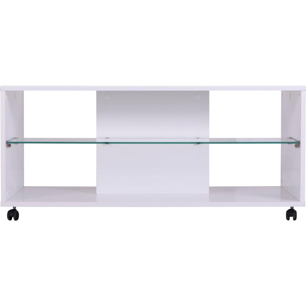 INOSIGN Couchtisch »Trentino«, Breite ca. 101 cm, mit Rollen