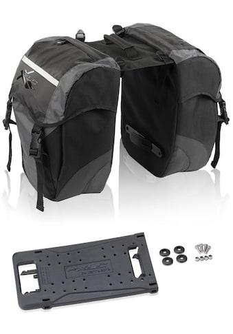 XLC Gepäckträgertasche »Doppelpacktaschen Carry more« kaufen