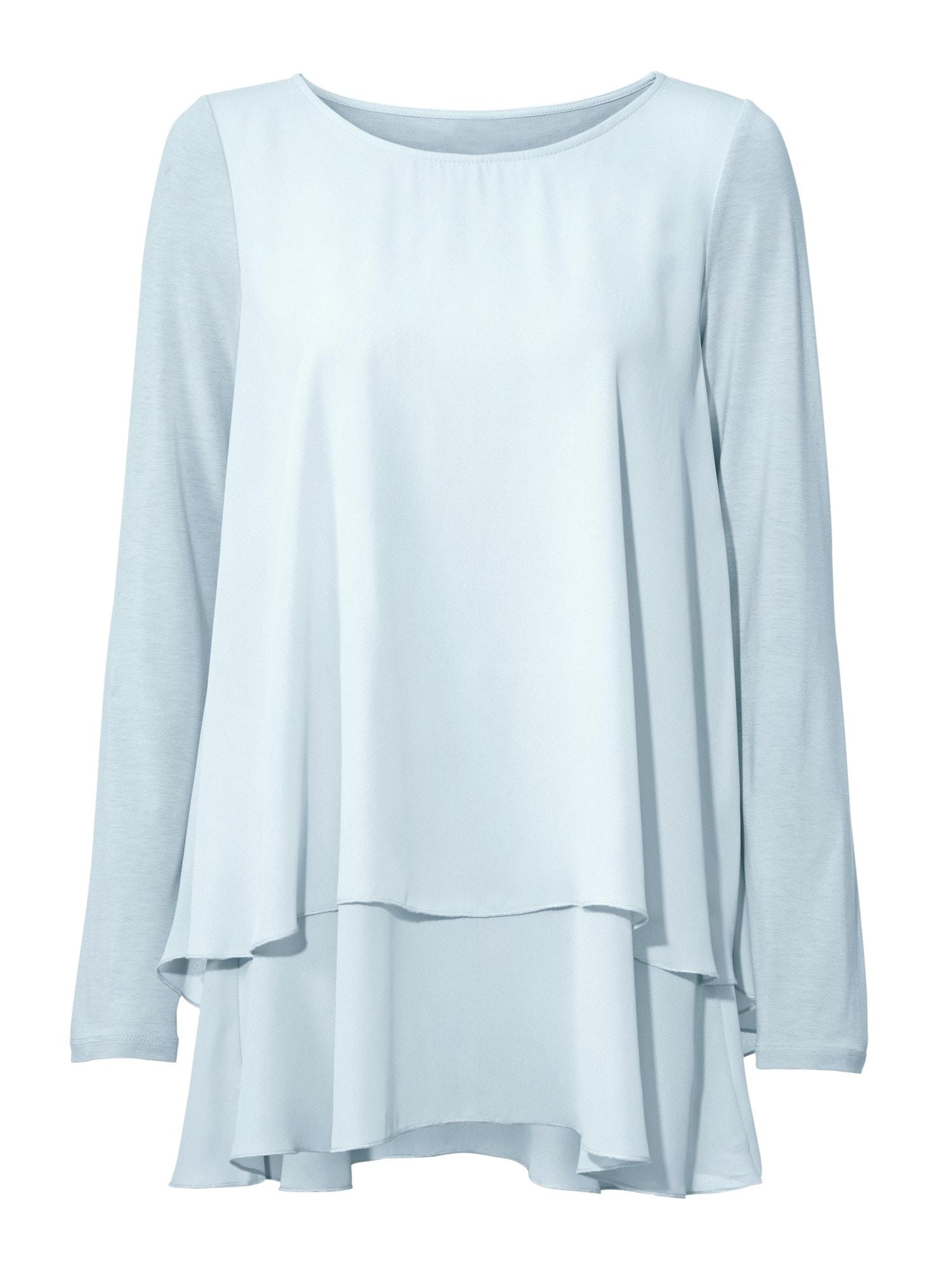LINEA TESINI by Heine Rundhalsshirt im Lagen-Look   Bekleidung > Shirts > Rundhalsshirts   Linea Tesini By Heine