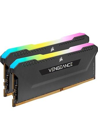 Corsair Arbeitsspeicher »Vengeance RGB PRO DDR4 3200Mhz 32GB (2x16GB)« kaufen