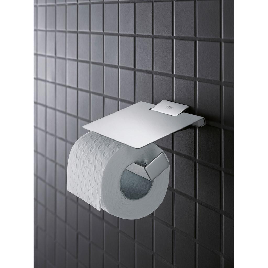 Grohe Toilettenpapierhalter »Selection Cube«, mit Deckel