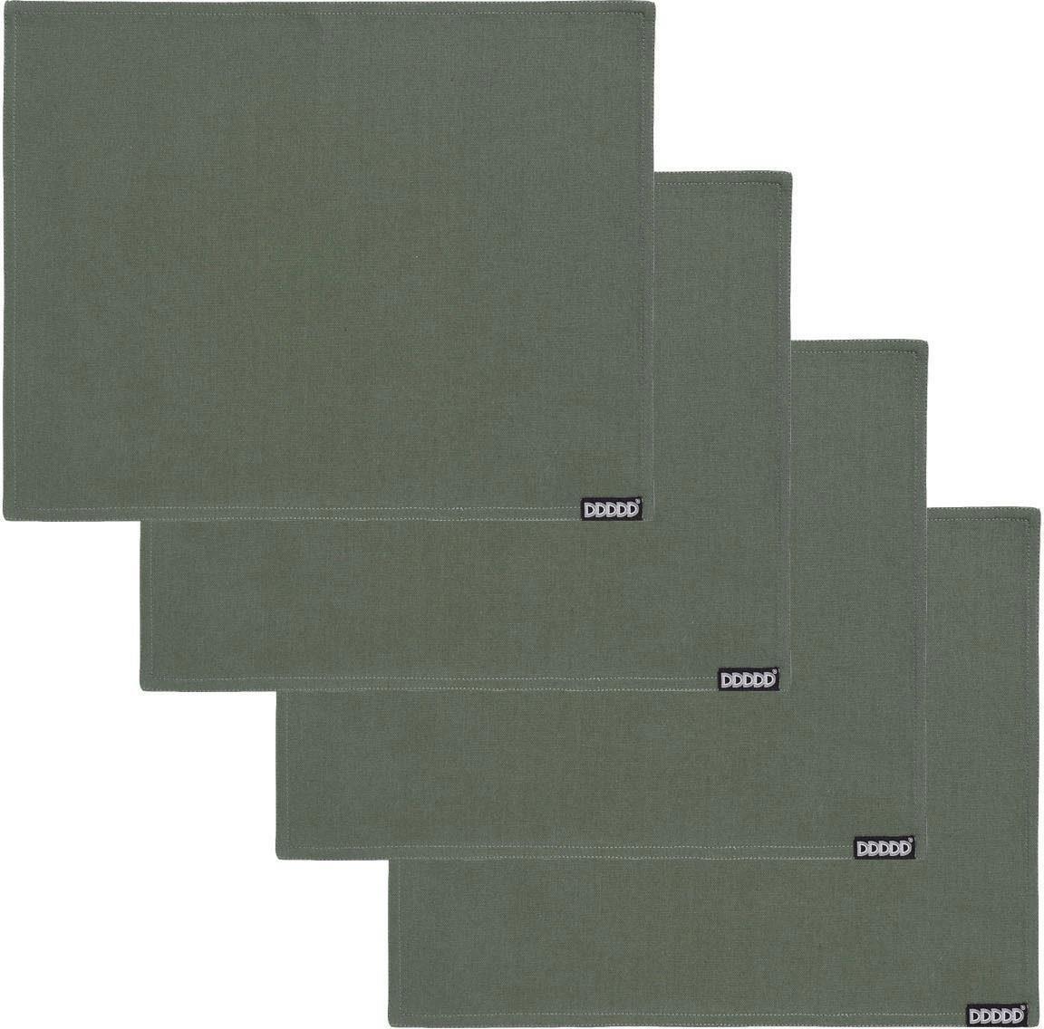 Platzset Kit DDDDD (Set 4-tlg) Wohnen/Haushalt/Haushaltswaren/Geschirr, Porzellan & Tischaccessoires/Tischaccessoires/Tischdecken/Tischsets & Platzsets