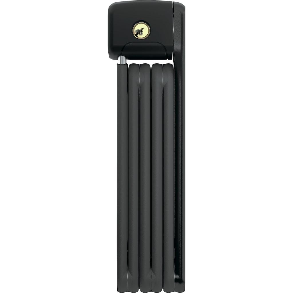 ABUS Faltschloss »Bordo Lite 6055K«, (Set, 2 tlg., mit Halterung)