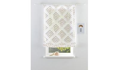 Guido Maria Kretschmer Home&Living Raffrollo »Gino«, mit Klettband, ohne Bohren kaufen