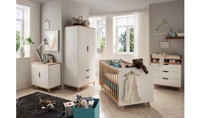 Fantasykids Babyzimmer-Komplettset, (4 tlg., Bett + Wickelkommode + 2-trg. Schrank + Kommode) kaufen