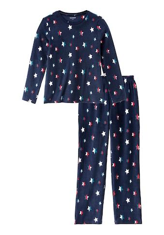 Schiesser Pyjama, aus weichem Fleece kaufen
