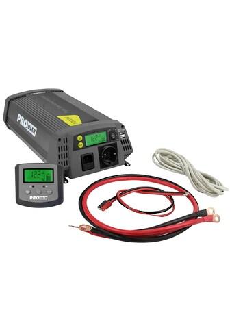 PROUSER Spannungswandler »Sinus PSI1000TX«, 12 V/DC  -  230 V/AC, 1000 W kaufen