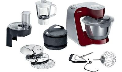 BOSCH Küchenmaschine MUM58CR60, 1000 Watt, Schüssel 3,9 Liter kaufen