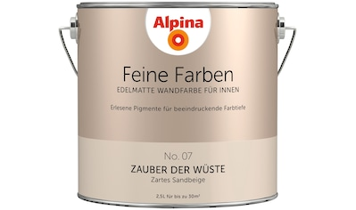 ALPINA Wand -  und Deckenfarbe »Feine Farben  -  Zauber der Wüste«, 2,5 l kaufen
