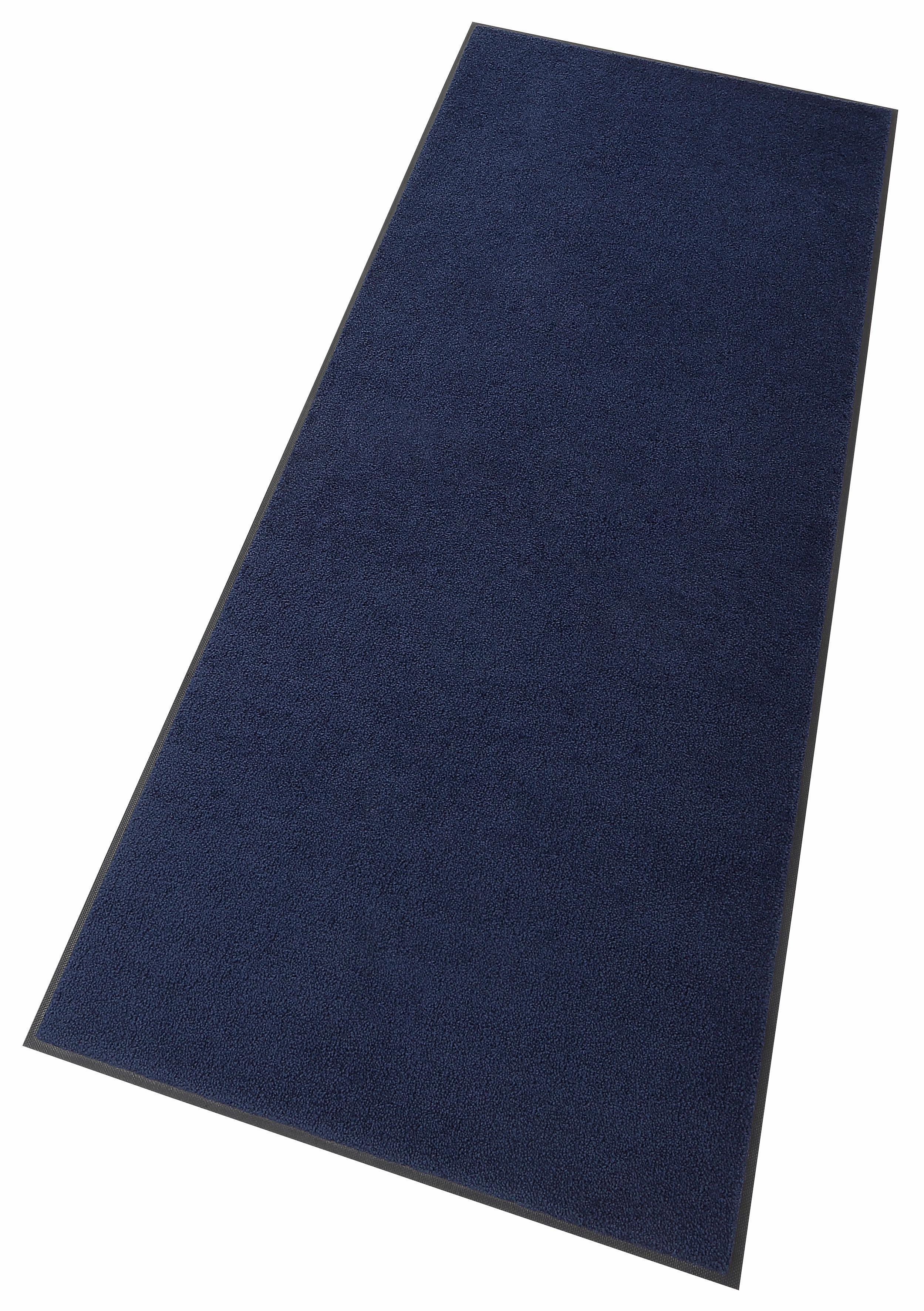 Läufer Original Uni wash+dry by Kleen-Tex rechteckig Höhe 9 mm gedruckt