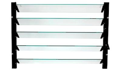 VITAVIA Lamellen - Wandfenster , schwarz, BxH: 61x45 cm kaufen
