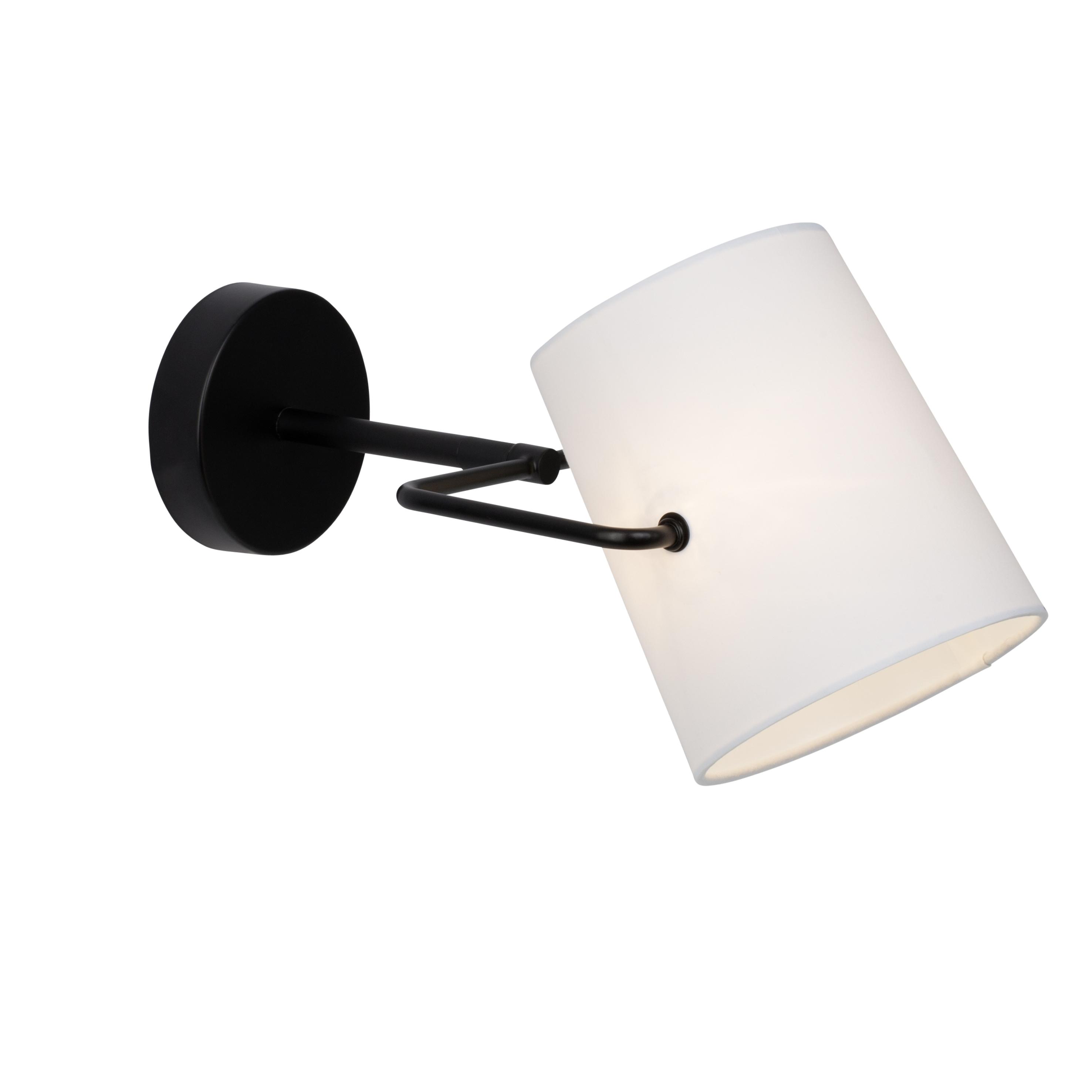 Brilliant Leuchten Bucket Wandspot schwarz/weiß