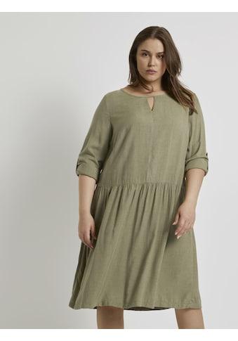 TOM TAILOR MY TRUE ME Blusenkleid »Meliertes Blusenkleid« kaufen
