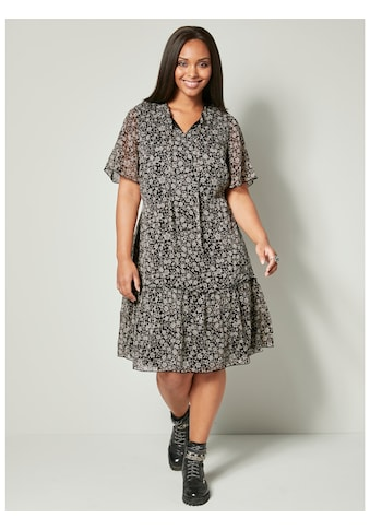 Angel of Style by Happy Size Kleid mit Blümchendessin kaufen