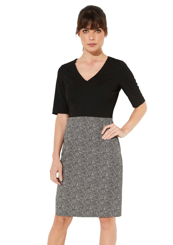 Comma Etuikleid Damenmode/Bekleidung/Kleider/Etuikleider