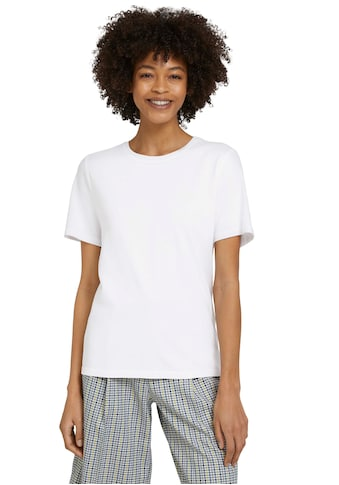 TOM TAILOR mine to five T-Shirt, im Basic Look kaufen