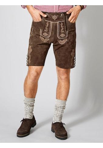 Men Plus by Happy Size Kurze Trachten - Lederhose kaufen