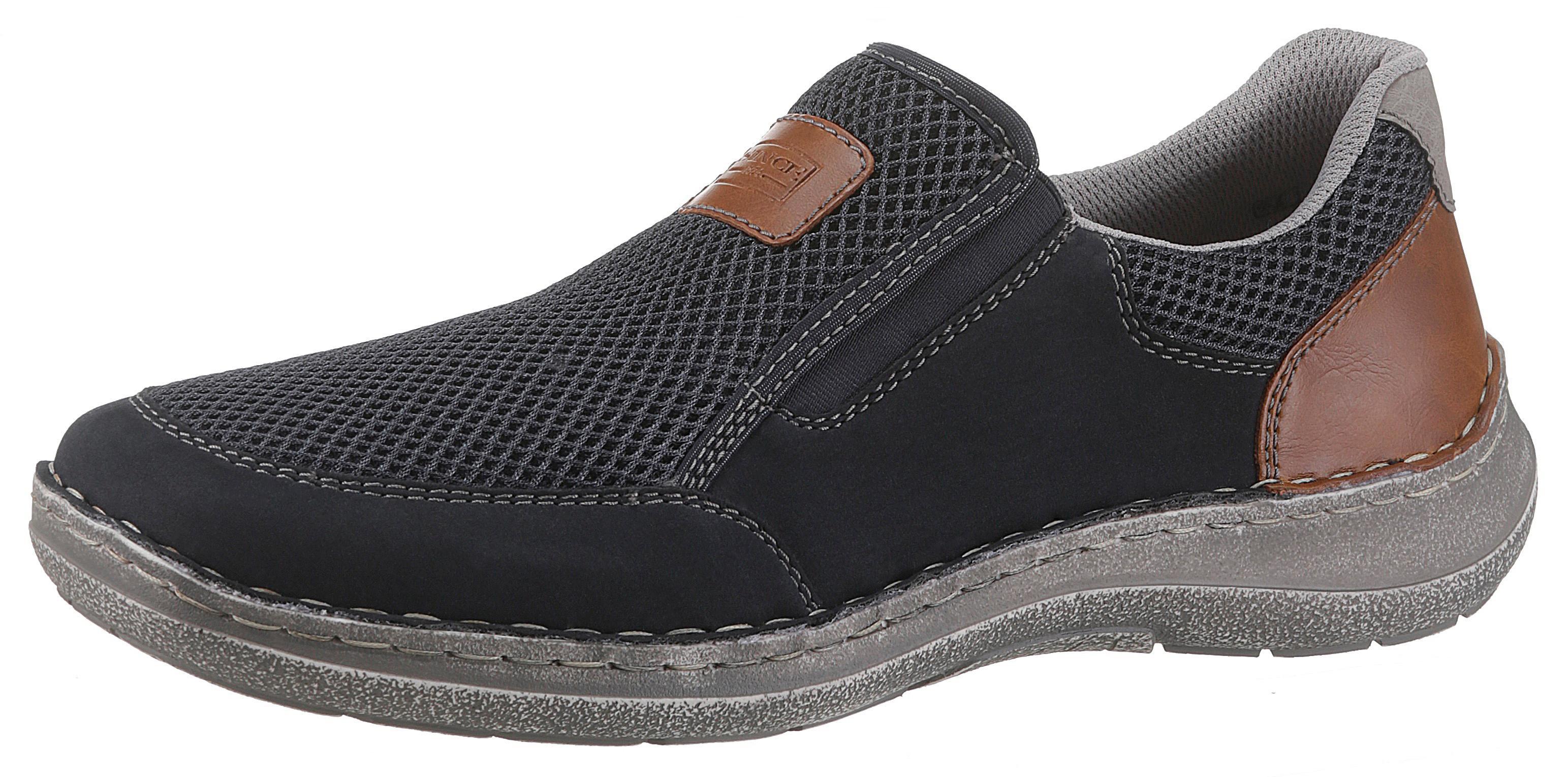 Rieker Slipper   Schuhe > Slipper   Blau   Rieker