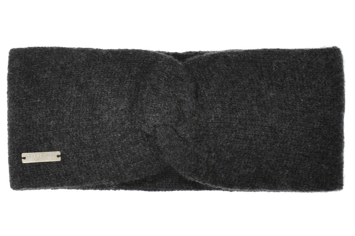 Seeberger Stirnband Stirnband mit Knotendetail in 100% Cashmere 17325-0 | Accessoires > Mützen > Stirnbänder | Seeberger