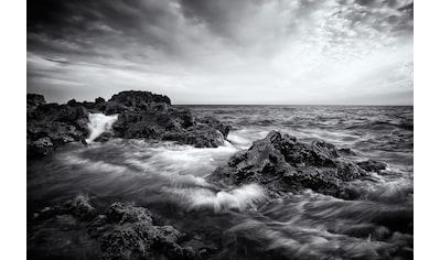 Papermoon Fototapete »Seelandschaft mit Wellen«, Vliestapete, hochwertiger Digitaldruck kaufen