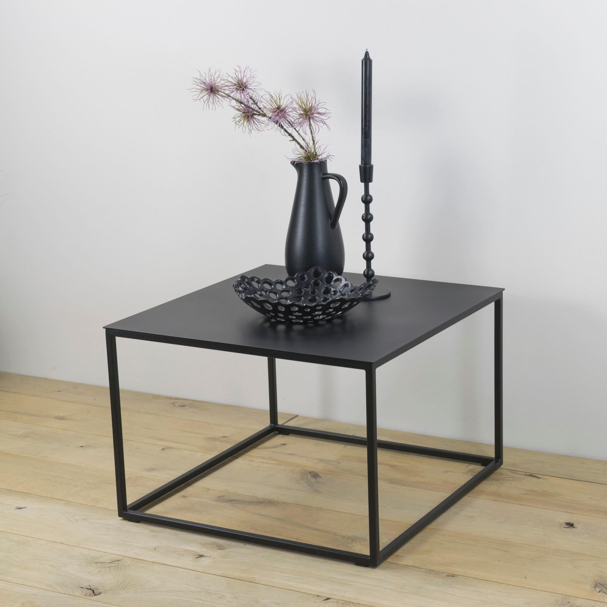 Spinder Design Beistelltisch Store, Breite 60 cm schwarz Beistelltische Tische