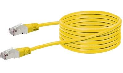 SCHWAIGER CAT5e Netzwerkkabel, Ethernet LAN Kabel, Patchkabel RJ45 »für Switch, Router, TV etc« kaufen
