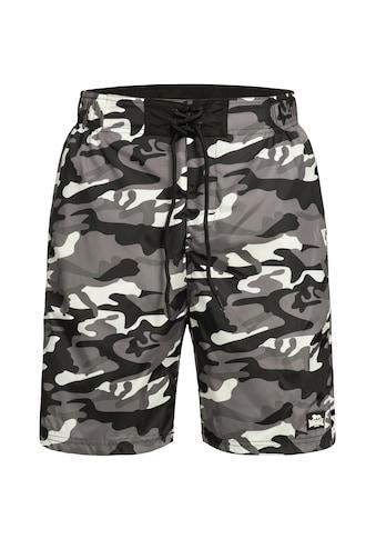 Lonsdale Shorts im Military-Design kaufen