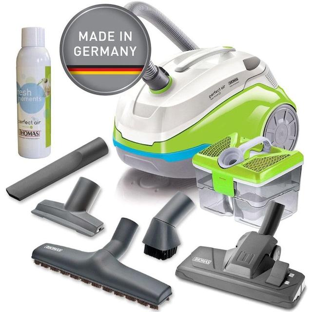 Thomas Wasserfiltersauger »mit Wasserfilter perfect air feel fresh x3«, 1700 W, beutellos, grün/grau