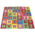 Knorrtoys® Puzzle »Alphabet und Zahlen«, Puzzlematte, Bodenpuzzle