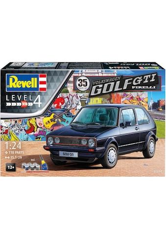 Revell® Modellbausatz »Model Set 35 Jahre VW Golf GTI Pirelli«, (Set), 1:24, Made in Europe kaufen