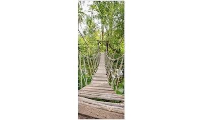 MySpotti Spritzschutz »fresh F1 Dschungelbrücke«, 100 x 255 cm kaufen