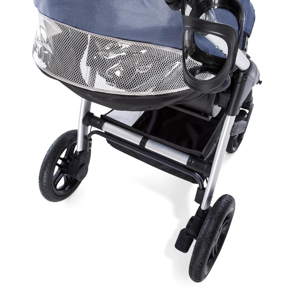Hauck Sportbuggy »Saturn R, denim silver«, inkl. Beindecke; Kinderwagen, Buggy, Sportwagen, Kinder-Buggy, Kinderbuggy, Sport-Kinderwagen