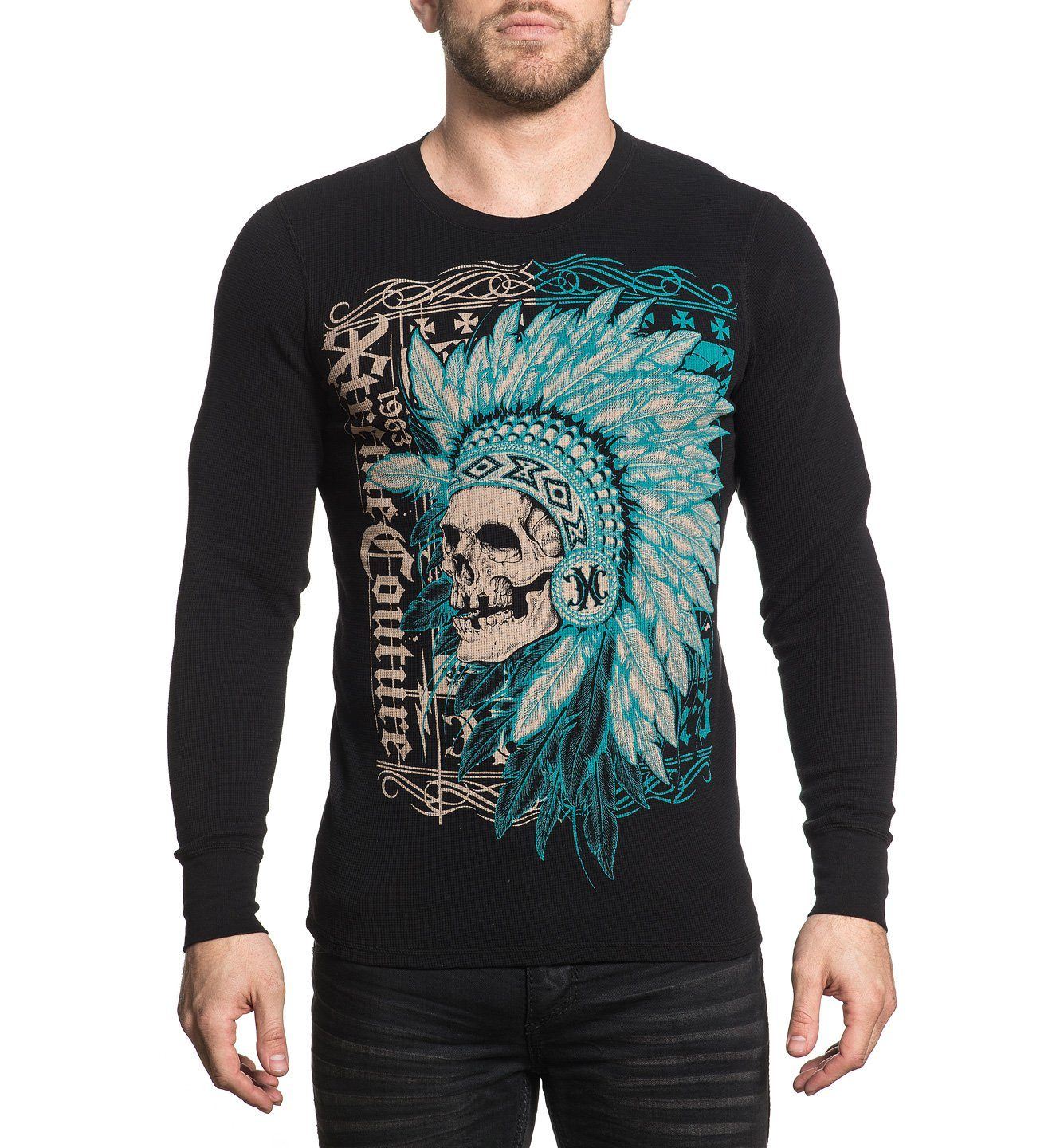xtreme couture -  Longsleeve mit großem Frontprint