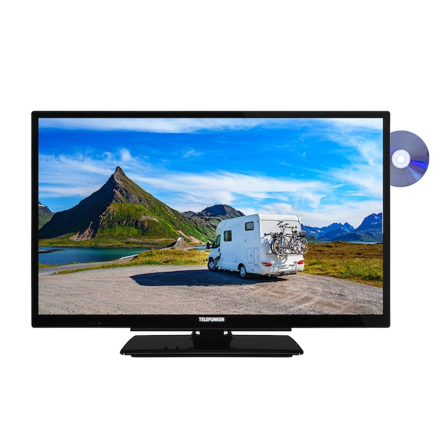 Telefunken LED-Fernseher (24 Zoll, HD ready, SmartTV, DVD, 12V) »XH24G501VD«