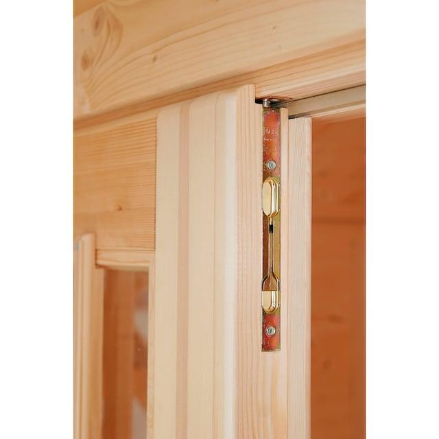 WOLFF FINNHAUS Gartenhaus »Mona 34-B«, BxT: 360x440 cm, inkl. Fußboden