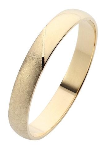 Firetti Trauring mit Gravur »glanz, eismatt, Diamantschnitt, 3,5 mm breit«, Made in... kaufen