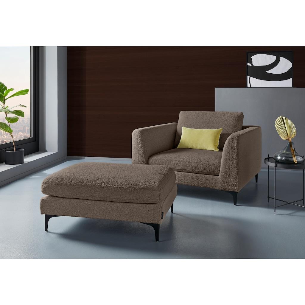 Places of Style TV-Sessel »Nixon«, verschiedene Bezugsqualitäten, in morderen Farben