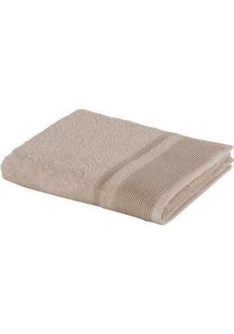 Möve Badetücher »Wellbeing«, (1 St.), aus Bio-Baumwolle und Leinen kaufen